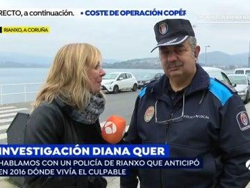 Un policía de Rianxo anticipó en 2016 dónde vivía el secuestrador de Diana Quer