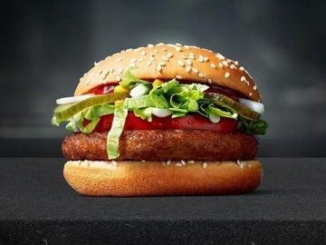 McDonald's acaba de lanzar la McVegan, su primera hamburguesa vegana
