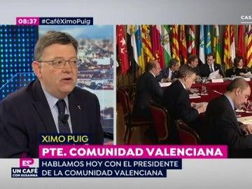 Ximo Puig, en Espejo Público