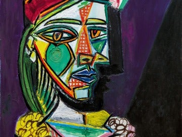 Mujer con boina, Picasso