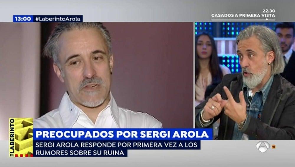 El chef Sergi Arola responde a los rumores de su crisis económica y personal
