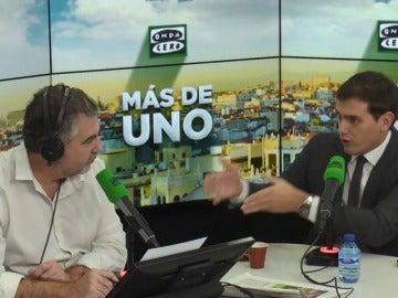 """Albert Rivera: """"Si el Gobierno cree que Roger Torrent es conciliador es que no le conoce"""""""