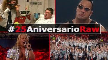 Así han sido los 25 años de RAW