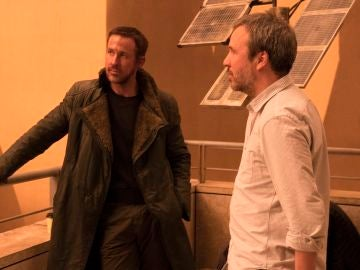 Ford, Gosling y Villeneuve rodando 'Blade Runner 2049'