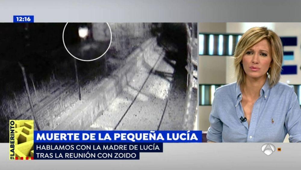"""La madre de Lucía Vivar, la pequeña que murió en las vías del tren, tras su reunión con Zoido: """"Se ha comprometido a poner un especialista para aclarar nuestras dudas"""""""