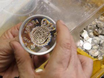 Moneda de 2 euros para conmemorar el Cincuenta Aniversario del Rey