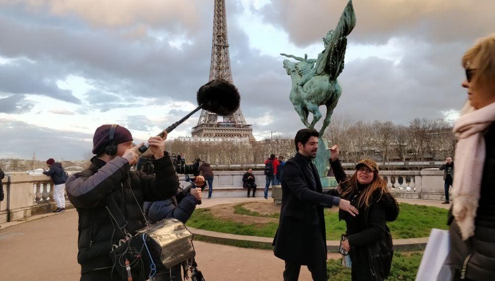 'Presunto Culpable' se rueda con la Torre Eiffel de fondo