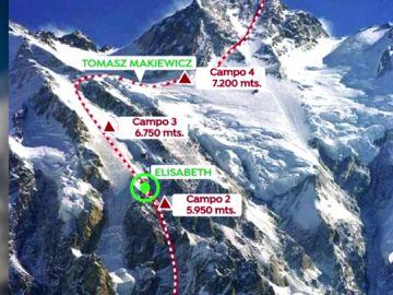 Así fue el heroico rescate en el Nanga Parbat, 'la montaña de la muerte'