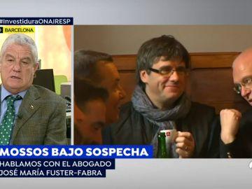 """El abogado Fúster-Fabra, presuntamente espiado por los Mossos: """"Soy abogado de los Mossos y lo pienso seguir haciendo"""""""
