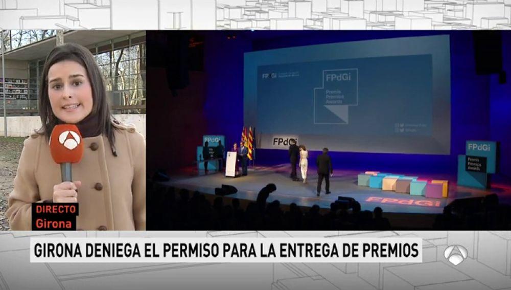 Alegan obras para impedir la gala de los Premios Princesa de Girona en el auditorio de la ciudad