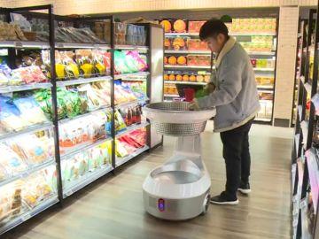 La tecnología revoluciona los supermercados clásicos en China