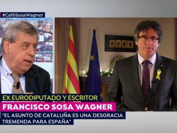 """Francisco Sosa Wagner: """"El asunto de Cataluña es una desgracia tremenda para España"""""""