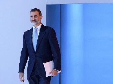 Felipe VI en el foro de Davos (Archivo)