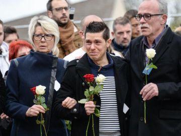 El marido de Alexia, en un acto homenaje a la mujer asesinada