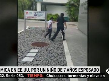 Niño de 7 años arrestado