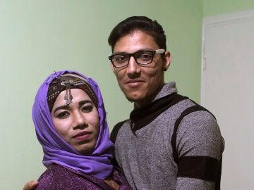 Ovil y Osman, la pareja LGTB de refugiados atrapados en Lesbos