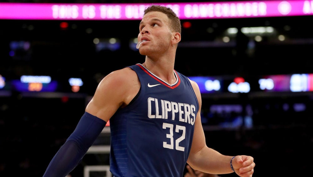 Blake Griffin, en un partido de los Clippers