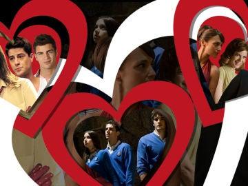 Tríos amorosos en televisión