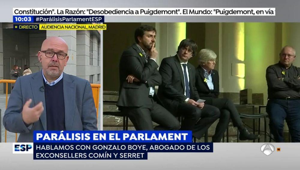 """El abogado de Comín estudiará acciones legales tras filtrarse posibles mensajes de Puigdemont: """"Moncloa triunfa, esto se ha terminado"""""""