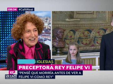"""Carmen Iglesias analiza el reinado de Felipe VI: """"El discurso del Rey estaba clarísimo: asumir el destino"""""""