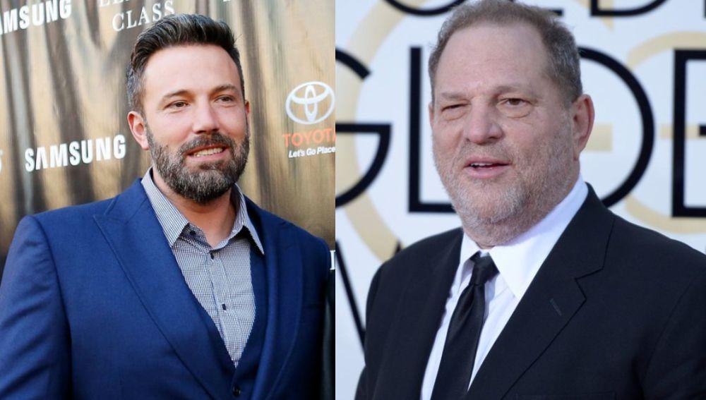 Ben Affleck y Harvey Weinstein