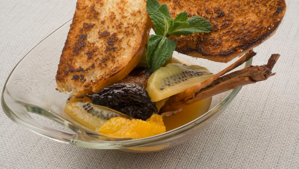 Compota de kiwi y naranja
