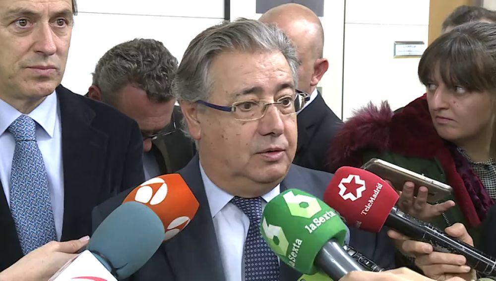 Interior aplicará la Ley de Seguridad Ciudadana a los independentistas que rompieron el cordón policial del Parlament