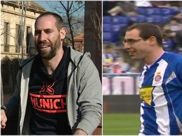 Ander Mirambell, forofo del Espanyol