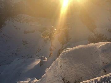 Rescatan a dos montañeros enriscados en una arista del Pico Aspe
