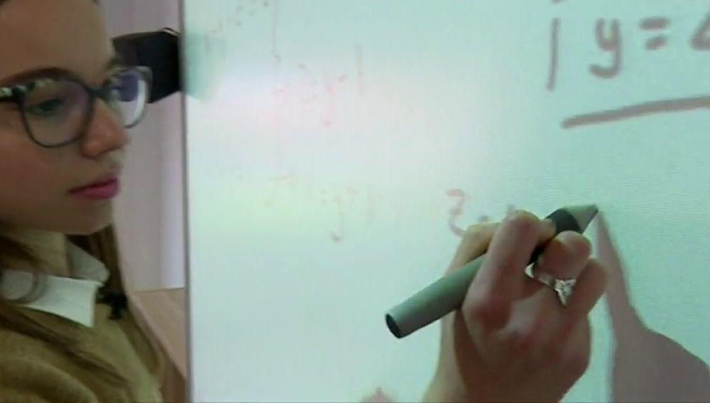La campeona internacional de matemáticas es Canaria