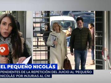Se repite el juicio contra el pequeño Nicolás por injurias al CNI