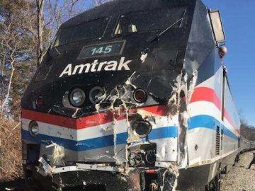 El tren que ha sufrido un accidente en Estados Unidos