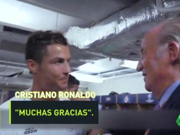 Así llama Juan Carlos I a Cristiano Ronaldo tras ganar la Duodécima
