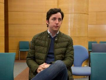 El pequeño Nicolás durante un juicio
