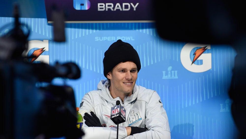 Tom Brady, de los New England