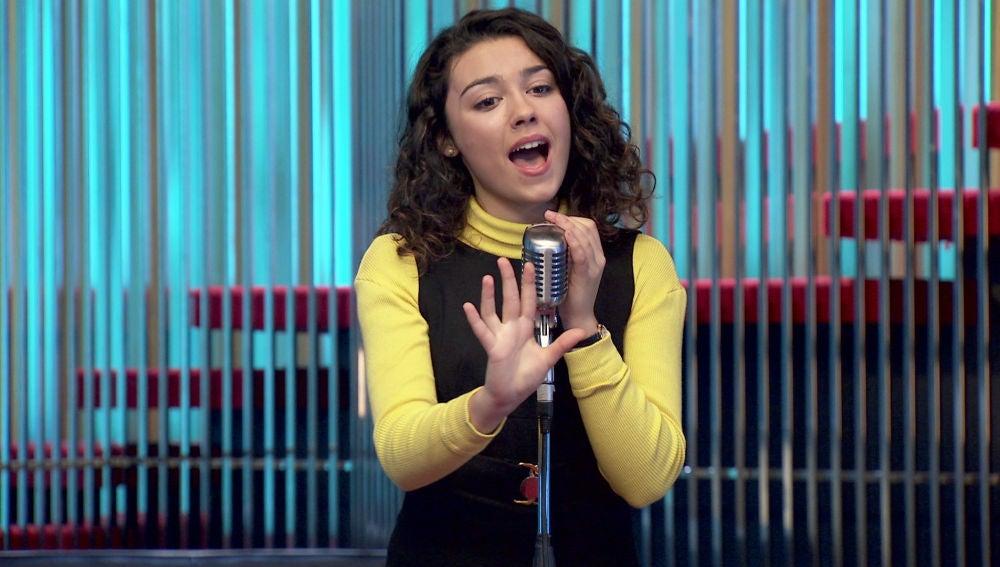 Charo, maravillada con la voz de Belén Tuñón