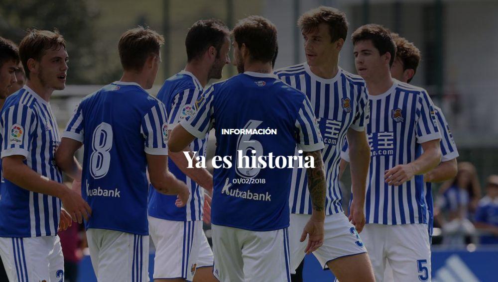 'Ya es historia': el anuncio de la Real Sociedad sobre las camisetas de Íñigo Martínez