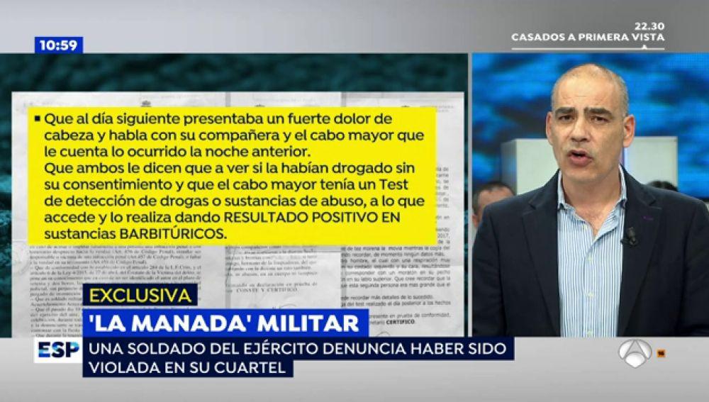 'La Manada' militar: una soldado del ejército denuncia haber sido violada por sus compañeros en Antequera