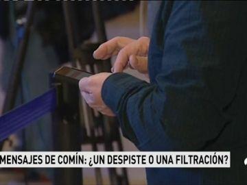 Los mensajes de Puigdemont a Comín: ¿Un despiste o una filtración?