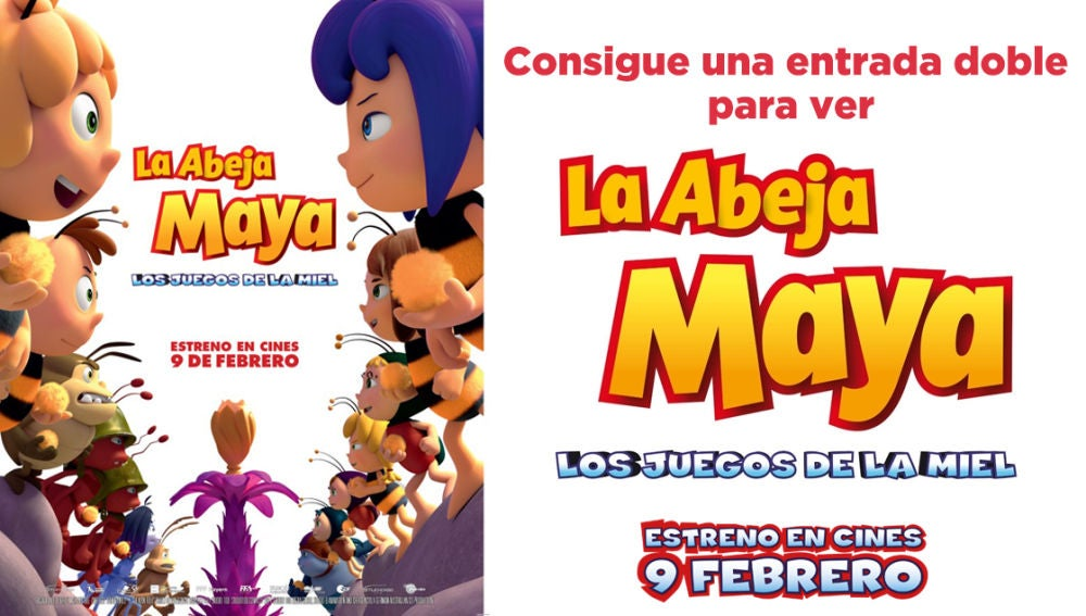 Concurso 'La Abeja Maya: Los Juegos de la Miel'
