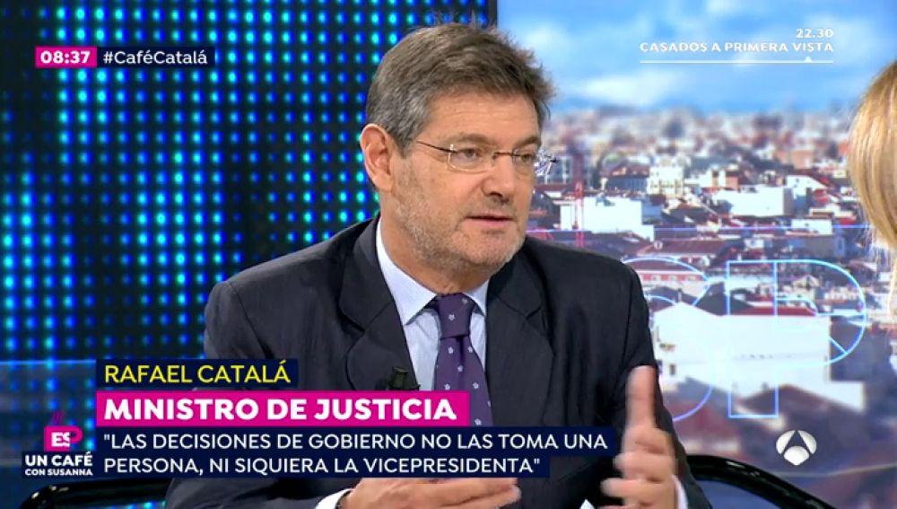 Rafael Catalá en Espejo Público