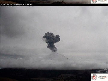 Volcán mexicano Popocatépetl