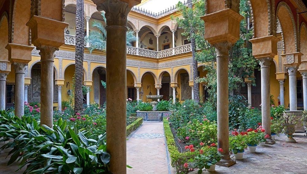 Jardines del Palacio de Dueñas