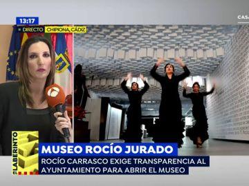"""La alcaldesa de Chipiona, sobre el Museo Homenaje a Rocío Jurado: """"Lo que queremos es ponerlo en funcionamiento"""""""