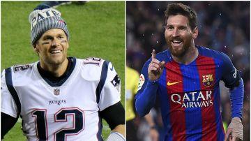Tom Brady, fan de Leo Messi