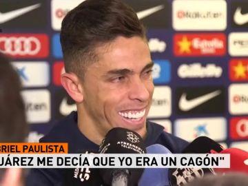 """Gabriel Bautista: """"Suárez me decía que yo era un cagón y yo le decía que él era el mejor delantero del mundo"""""""