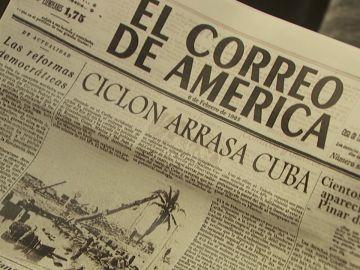 Una trágica noticia llega a Puente Viejo: un ciclón arrasa Cuba