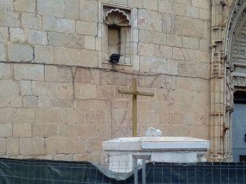 Cruz de madera en Callosa del Segura