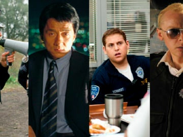 Las mejores comedias de policías