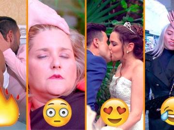Desmayos, primeras convivencias y lunas de miel y de hiel, los momentazos de 'Casados a primera vista'